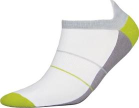 Термоноски унисекс InMove Mini Sport Deodorant бело-зеленые