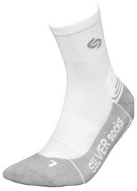 Носки мужские InMove Athletic Deodorant Silver white/light grey