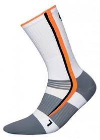 Носки унисекс InMove Bike Deodorant Silver white/orange
