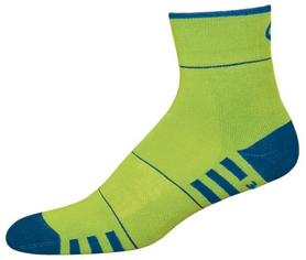 Носки унисекс InMove Fitness Deodorant green/dark blue