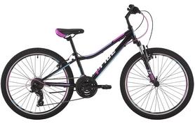 """Велосипед подростковый горный Pride Lanny 21 24"""" 2017 черный"""