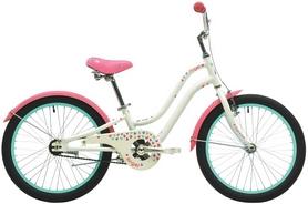 """Велосипед детский городской Pride Angel 20"""" 2017 белый/розовый"""