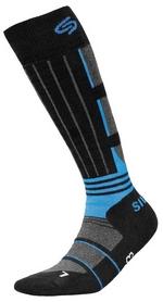Носки унисекс InMove Ski Deodorant Silver black/blue