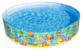 Бассейн каркасный детский Intex 56452 Ocean Reef Snapset (183х38 см)