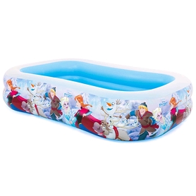 Бассейн надувной детский Intex 58469 Холодное сердце (262х175х56 см)