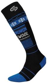 Носки мужские InMove Ski Deodorant Thermowool black/blue