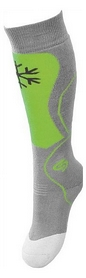 Носки детские InMove Ski Kid grey/green
