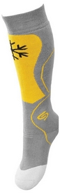 Носки детские InMove Ski Kid grey/yellow