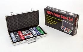 Фото 3 к товару Набор для игры в покер IG-4392-300 300 фишек без номинала