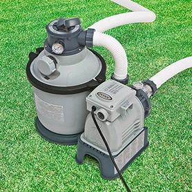 Насос фильтрующий для бассейна песочный Intex 28644 (насос 4500 л/ч, фильтр 4000 л/ч)
