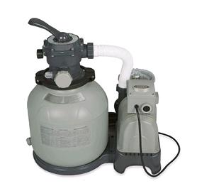 Насос фильтрующий для бассейна песочный Intex 28648 (фильтр 8000 л/ч, насос-10000 л/ч)