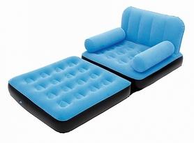 Кресло надувное BestWay 67277-02 голубое