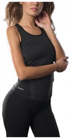 Майка для фитнеса женская Avecs 30157-AV черная