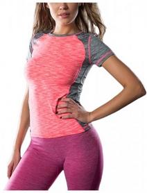 Футболка для фитнеса женская Avecs 30183-AV розовая