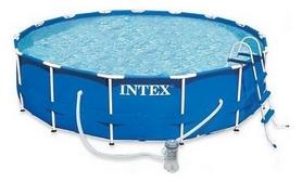 Бассейн каркасный Intex 28218/28718 (366х99 см) с фильтрующим насосом