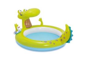 "Бассейн детский надувной ""Крокодил"" Intex 57431 (190х160х91 см)"