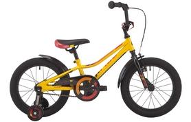 """Велосипед детский Pride Flash 16"""" 2017 желтый/красный/черный"""
