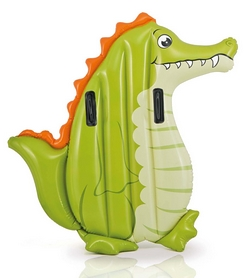 Плотик детский Intex 58151 Animal Riders 58151 (114х94 см) Крокодил