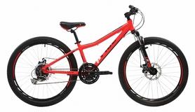 """Велосипед подростковый горный Pride Pilot Race 24"""" 2017 красный/черный, рама - 16"""""""