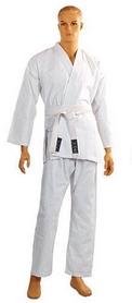 Кимоно для карате Сombat Budo белое + пояс в подарок - 150 см