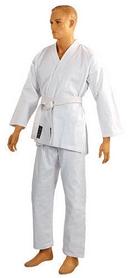 Фото 2 к товару Кимоно для карате Сombat Budo белое + пояс в подарок
