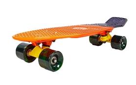 Распродажа*! Пенни борд Penny Fish Swirl SK-408-1 оранжевый