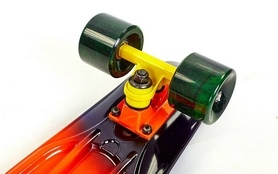 Фото 4 к товару Пенни борд Penny Fish Swirl SK-408-1 оранжевый