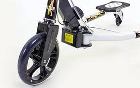 Фото 8 к товару Трайк-самокат трехколесный детский Trikke Scooter (180 мм) черный