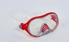Набор для плавания подростковый Dorfin (ZLT) (маска+трубка) красный - фото 2
