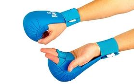 Накладки (перчатки) для карате Daedo BO-5076-BL синие