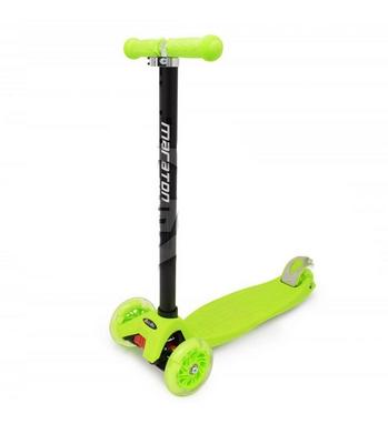 Самокат трехколесный Maraton Scooter 99 зеленый