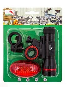 Набор фонарей велосипедных BL-M1807-1A