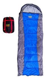 Мешок спальный (спальник) GreenCamp GRC1009-OR правый серый/синий