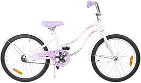 """Велосипед детский Stern Fantasy 20"""" белый/фиолетовый"""