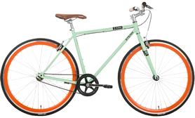 """Велосипед городской Stern Q-stom 28"""" зелёный, рама - 54 см"""