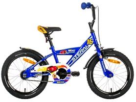"""Велосипед детский Stern Rocket 16"""" синий, рама - 9"""""""