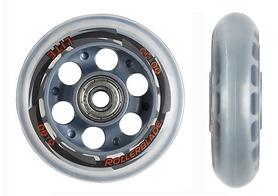 Колеса для роликов с подшипниками Rollerblade RB 80/82А 2014 8 шт