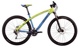 """Велосипед горный Corratec Superbow Fun 27,5"""" 2016 matt blue/green, рама - 44 см"""