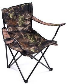 Стул складной туристический Green Camp В24L Leaf Camouflage