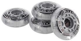 Колеса для роликов светящиеся Reaction RW64F92, 64 мм 80А