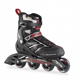 Коньки роликовые Rollerblade Zetrablade 2016 black/red