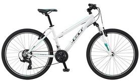 "Распродажа*! Велосипед горный женский GT Laguna 26"" S gloss white 2016 белый, рама - M"""