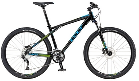 """Велосипед горный GT Avalanche Sport 27,5"""" 2016 черный, рама - XS"""