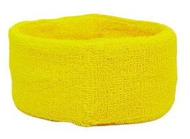 Повязка на голову ZLT BC-5760-Y желтая