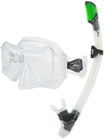Набор для плавания (маска и трубка) Joss M312S-03 прозрачный