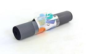 Фото 3 к товару Коврик для йоги (йога-мат) 6 мм Pro Supra B-1007