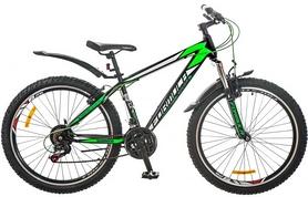 """Велосипед горный Formula Nevada AM 14G 26"""" 2017 черно-зеленый, рама - 16"""""""