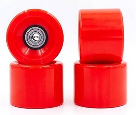 Колеса для скейтборда с подшипником ABEC-7 Kepai SK-4797-1 красные (4 шт)