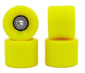 Колеса для скейтборда с подшипником ABEC-7 Kepai SK-4797-3 желтые (4 шт)
