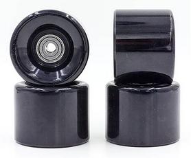 Колеса для скейтборда с подшипником ABEC-7 Kepai SK-4797-7 черные (4 шт)